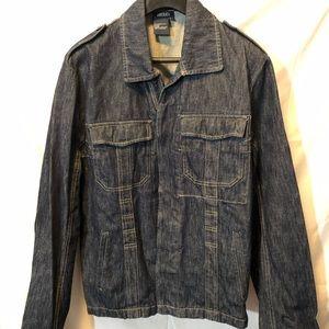 America denim jean jacket. Size Large.